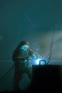 800x1280 Welding In Water 5k