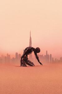 1125x2436 Westworld Season 3 Poster 4k