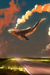 Whale Fantasy Digital Art