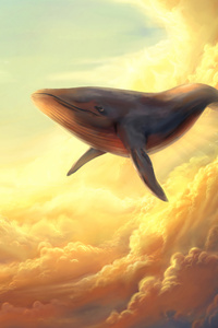 Whale In The Clouds