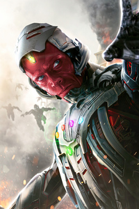 640x960 What If Vision Ultron