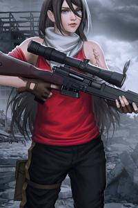 320x480 When Gun Is Life 5k