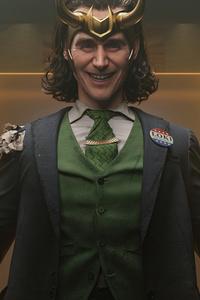 1080x2280 When Loki Smiles 5k