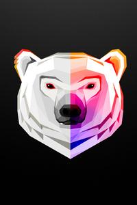White Bear Artwork 8k