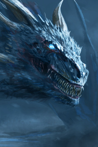 White Dragon Of Night King