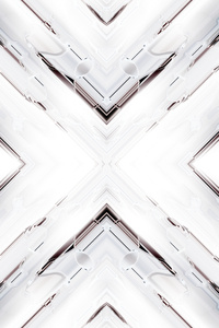 1080x2280 White Render Abstract Art 4k
