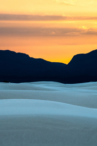 1440x2560 White Sands National Monument New Mexico 4k