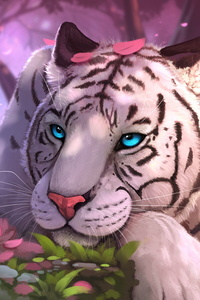 White Tiger Fantasy Art