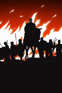 White Walkers Game Of Thrones Minimalism