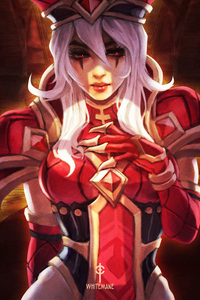 1080x2280 Whitemane Heroes Of The Storm 4k