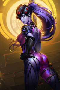 2160x3840 Widowmaker Artwork 4k