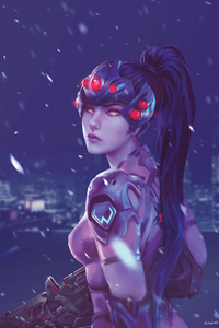 800x1280 Widowmaker Character Design 4k