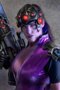 720x1280 Widowmaker In Overwatch Video Game