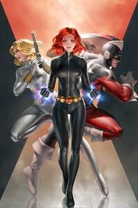 750x1334 Widowmaker Marvel Comics 4k