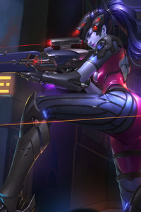 Widowmaker Overwatch 4k Game Artwork