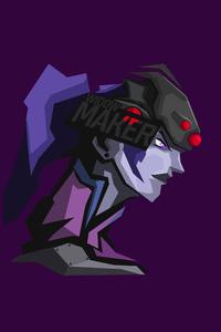 640x960 Widowmaker Overwatch 8k