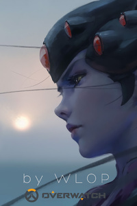 Widowmaker Overwatch By Wlop