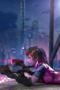 720x1280 Widowmaker Overwatch Cosplay