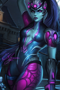 Widowmaker Overwatch Fanart 5k