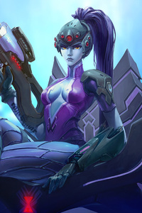 Widowmaker Overwatch Game Artwork