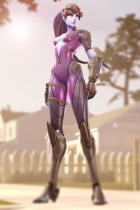 Widowmaker Overwatch Hero 4k