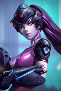 720x1280 Widowmaker Overwatch