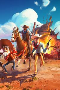 720x1280 Wild West 4k