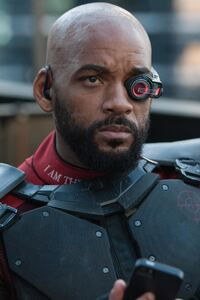 1125x2436 Will Smith As Deadshot