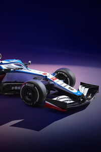 320x568 Williams FW43 2020 8k
