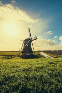 320x480 Windmill 5k