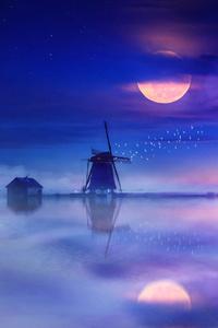 Windmill Digital Art