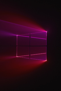 1242x2688 Windows 10 Glass Background