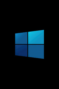 720x1280 Windows 10 Minimal Logo 4k