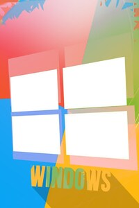 Windows Colorful Background