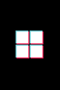 800x1280 Windows Logo X Tiktok 4k