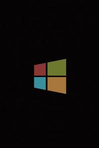 750x1334 Windows Minimal 4k