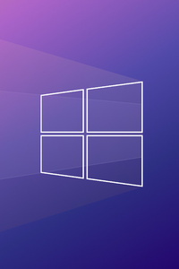 640x1136 Windows Minimal Back To Basics 5k