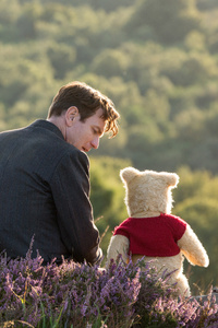 480x854 Winnie The Pooh In Christopher Robin Movie 5k