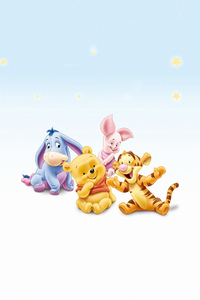 640x1136 Winnie The Pooh Tigger Eeyore And Piglet