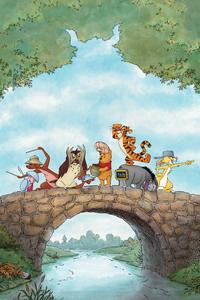 1080x2280 Winnie The Pooh