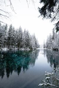Winter Cold Lake
