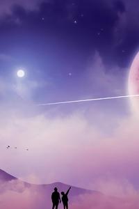 Wish Upon A Shooting Star 4k