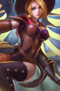 Witch Mercy Overwatch