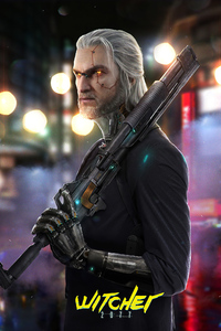 Witcher 2077 Cyberpunk