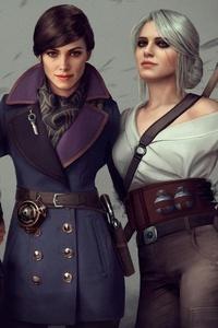 Witcher Assassins Bioshock Girls Crossover
