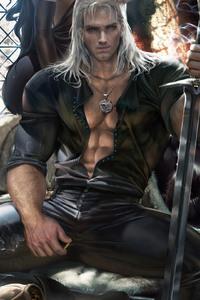 2160x3840 Witcher Geralt Of Rivia Art 4k