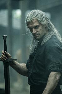 1080x1920 Witcher Henry Cavill 5k