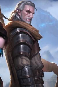 Witcher Wild Hunt Geralt Yen