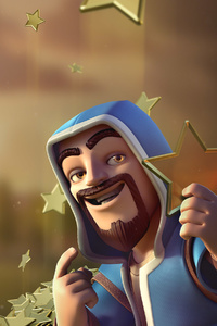 240x400 Wizard Clash Of Clans
