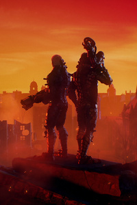 1080x2160 Wolfenstein Youngblood 4k